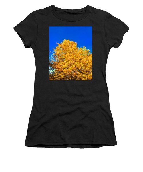 The Flare Of Fall On A Clear Day Women's T-Shirt