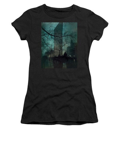 The Flatiron Building Women's T-Shirt (Athletic Fit)