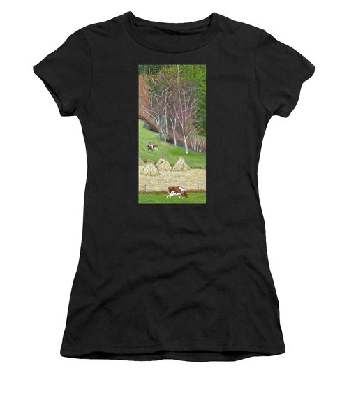 The Fodder's In The Shock Women's T-Shirt (Athletic Fit)