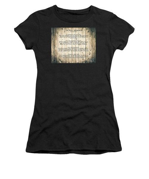 The Four Agreements 8 Women's T-Shirt