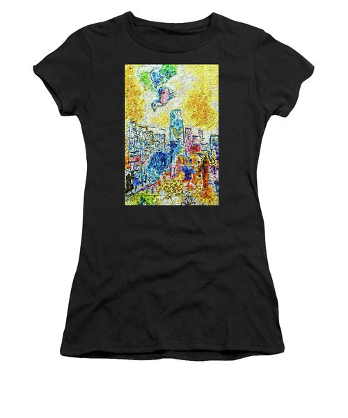 The Four Seasons Chicago Portrait Women's T-Shirt