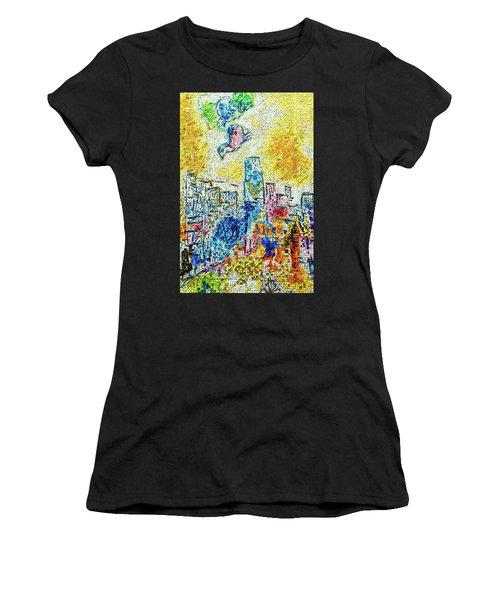 The Four Seasons Chicago Portrait Women's T-Shirt