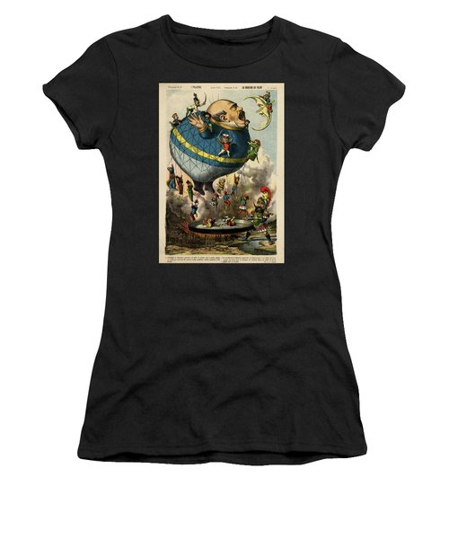 The Frying Pan Of War Women's T-Shirt (Athletic Fit)