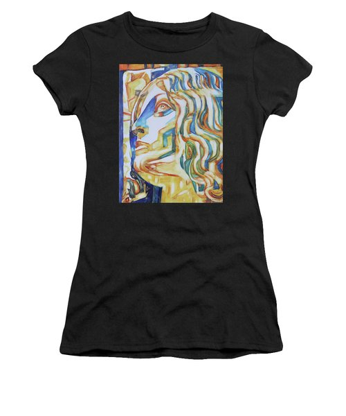 The Gaze - Inspired By Tullio Lombardo, 1460-1532 Women's T-Shirt (Athletic Fit)