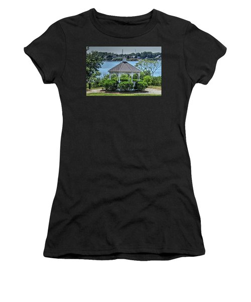 Women's T-Shirt (Junior Cut) featuring the photograph The Gazebo by Tom Prendergast