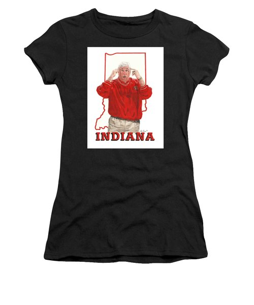 The General Bob Knight Women's T-Shirt (Athletic Fit)