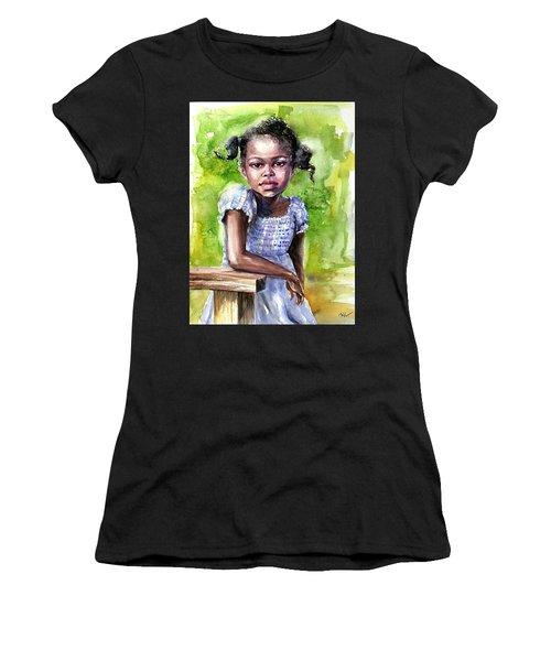 The Girl On The Veranda Women's T-Shirt