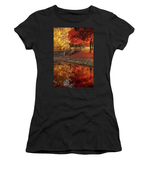 The Glory Of Autumn Women's T-Shirt (Athletic Fit)