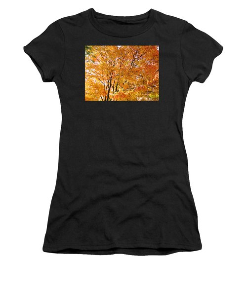 Women's T-Shirt featuring the photograph The Golden Takeover by Robert Knight