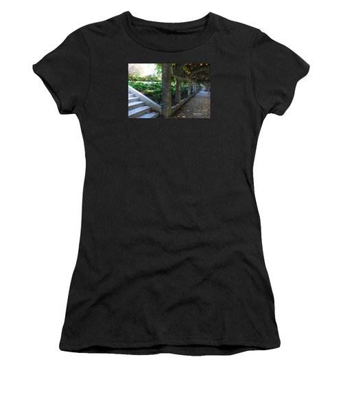 The Grape Arbor Path Women's T-Shirt (Athletic Fit)