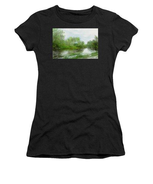 The Green Magic Of Ordinary Days Women's T-Shirt