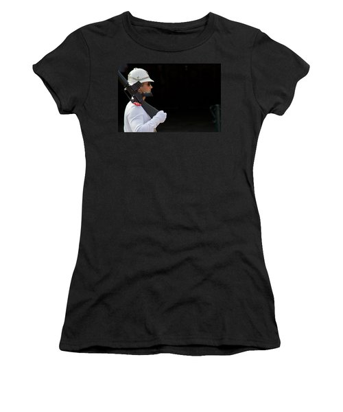 Women's T-Shirt (Junior Cut) featuring the photograph The Guard by Keith Armstrong