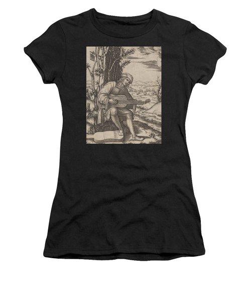 The Guitar Player Women's T-Shirt