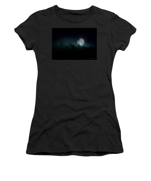 The Hallowed Moon Women's T-Shirt (Athletic Fit)