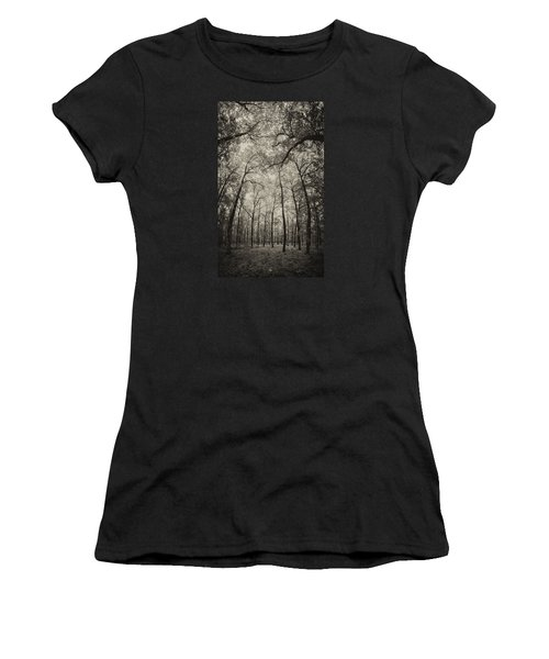 The Hands Of Nature Women's T-Shirt (Athletic Fit)