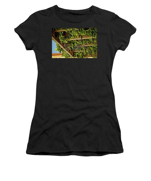 The Hanging Grapes Women's T-Shirt (Athletic Fit)