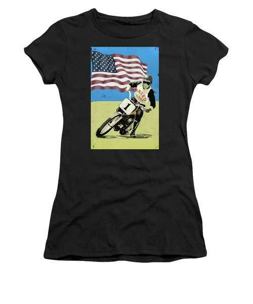 The Harley Competition Motorcycle Women's T-Shirt