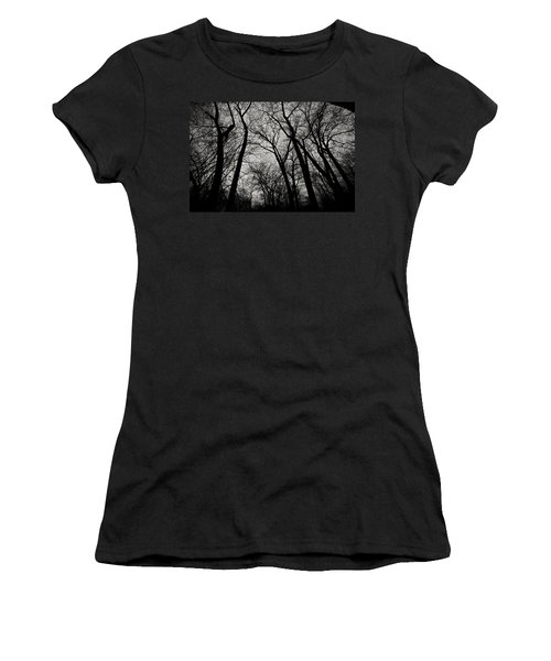 The Haunt Of Winter Women's T-Shirt (Athletic Fit)