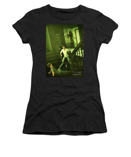The Haunted Manor Women's T-Shirt