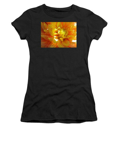 The Heart Of A Dahlia Women's T-Shirt