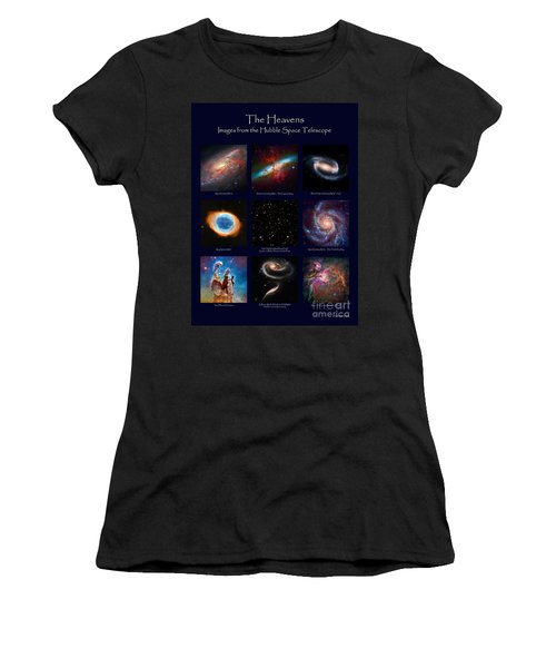 The Heavens - Images From The Hubble Space Telescope Women's T-Shirt (Athletic Fit)