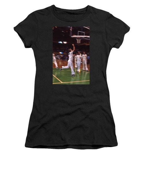 The Hick From French Lick Women's T-Shirt (Junior Cut) by Mike Martin