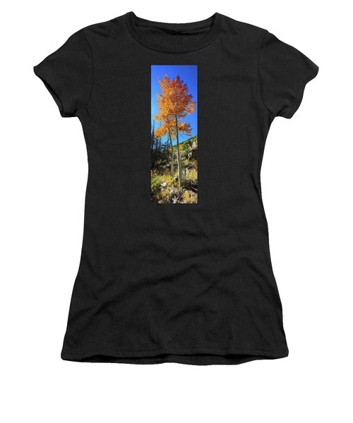 The Hillside - Panorama Women's T-Shirt (Athletic Fit)