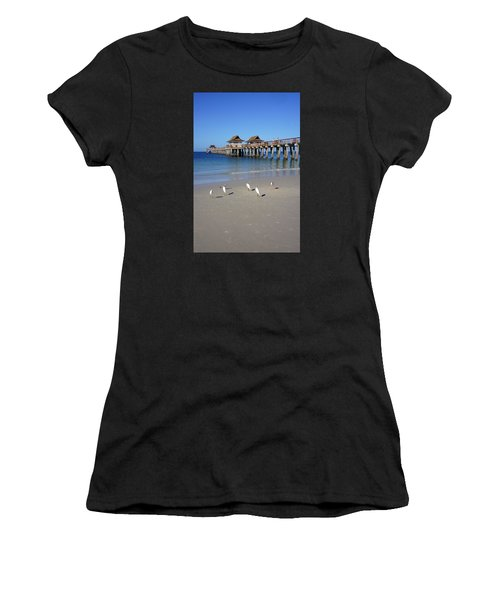 The Historic Naples Pier Women's T-Shirt