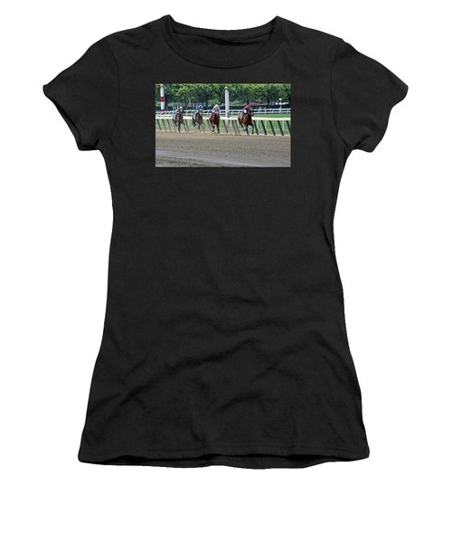 The Home Stretch Women's T-Shirt (Athletic Fit)