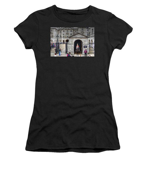 The Horse Guard At Whitehall Women's T-Shirt (Athletic Fit)