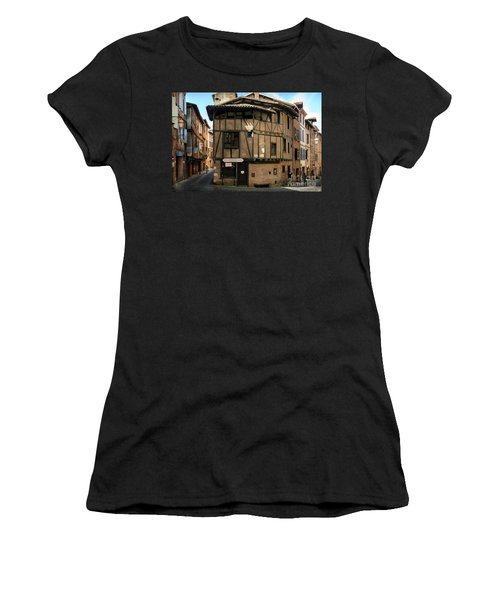 The House Of The Old Albi Women's T-Shirt (Junior Cut) by RicardMN Photography