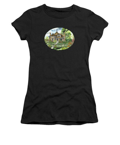 The House On Spring Lane Women's T-Shirt (Athletic Fit)