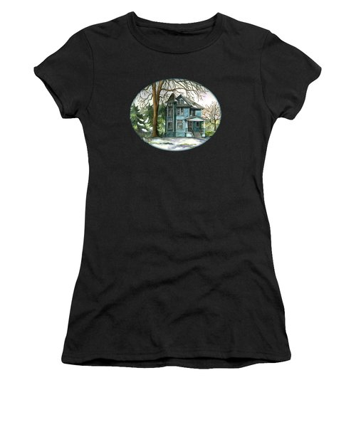The House Under The Big Tree Women's T-Shirt