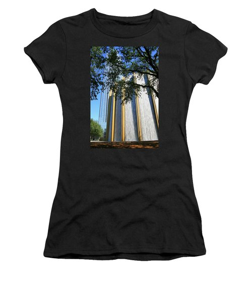 The Houston Water Wall And Williams Tower Women's T-Shirt