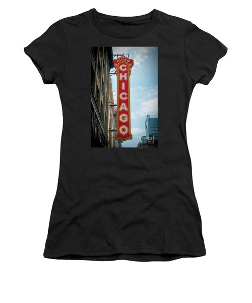 The Iconic Chicago Theater Sign Women's T-Shirt