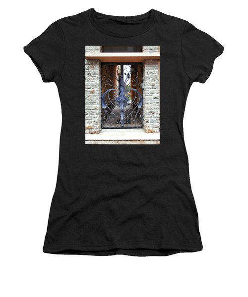 The Iron Gate Women's T-Shirt (Athletic Fit)
