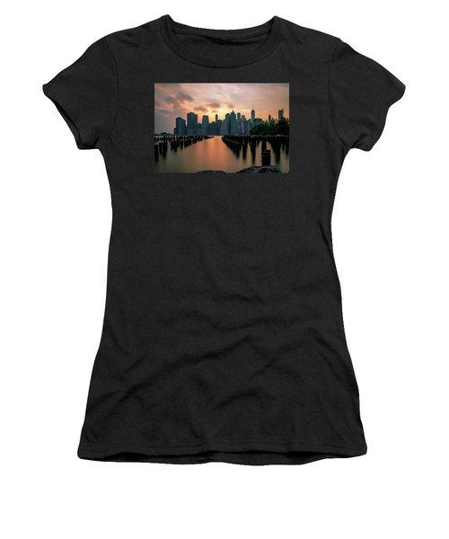 The Island Of Manhattan  Women's T-Shirt