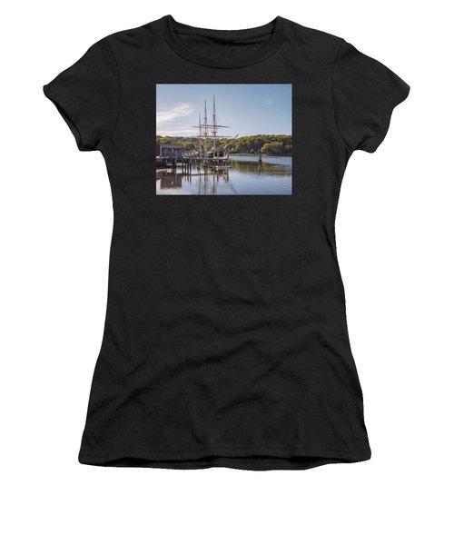 The Joseph Conrad Mystic Seaport Women's T-Shirt (Athletic Fit)