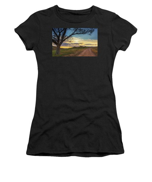 The Journey Home Women's T-Shirt (Junior Cut) by Tassanee Angiolillo