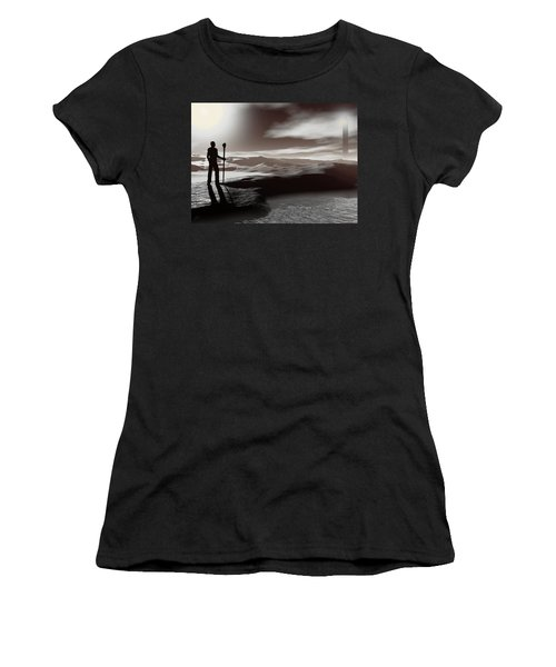 The Journey Women's T-Shirt (Junior Cut) by John Alexander