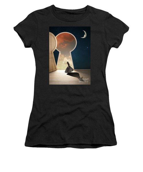 Curiouser And Curiouser Women's T-Shirt