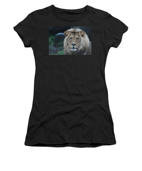 Women's T-Shirt (Junior Cut) featuring the photograph The King by Laddie Halupa
