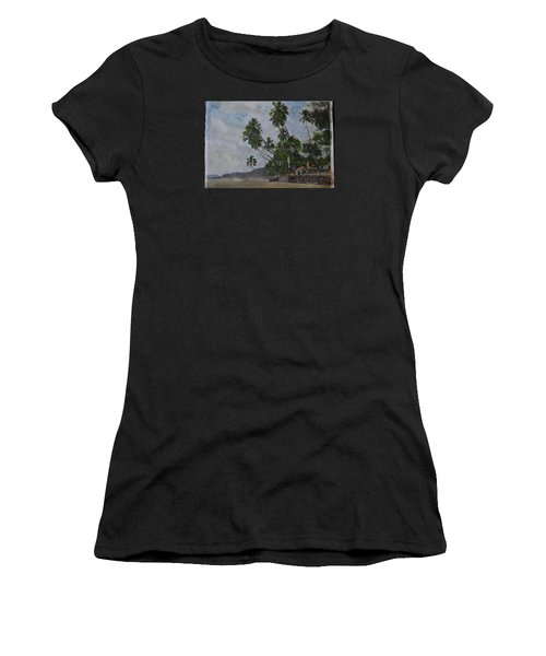 The Konkan Coastline Women's T-Shirt (Athletic Fit)