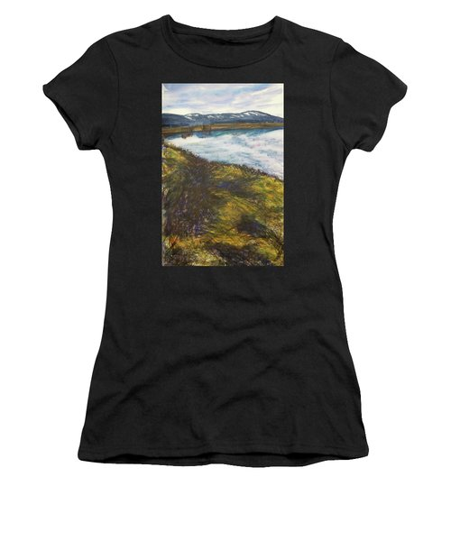 The Lake As Spring Arrives Women's T-Shirt