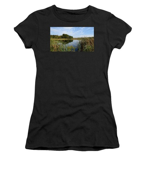 The Lake At Cadiz Springs Women's T-Shirt (Athletic Fit)