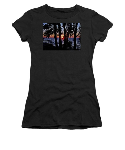 The Last Sun Women's T-Shirt (Athletic Fit)