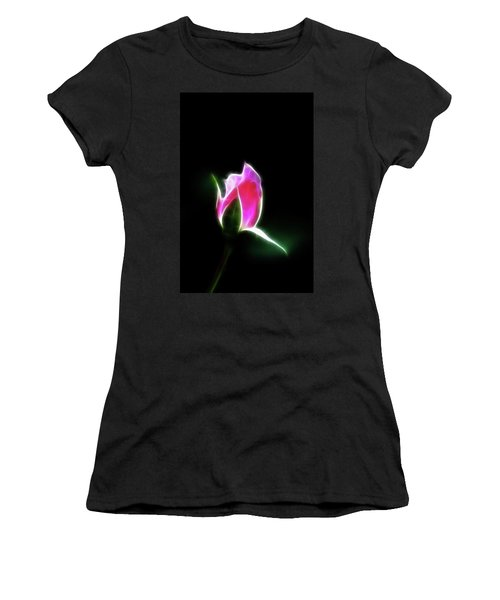 The Light Of Heaven Shining Down Women's T-Shirt (Athletic Fit)