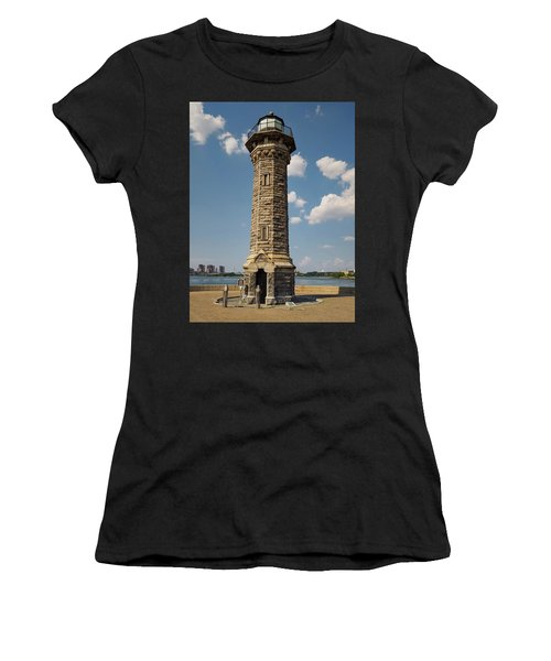 The Lighthouse Roosevelt Island Women's T-Shirt (Athletic Fit)