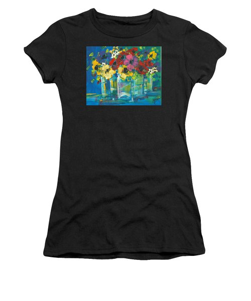 The Line-up Women's T-Shirt (Athletic Fit)