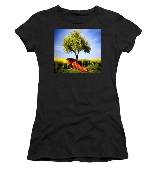 The Lion, The King Women's T-Shirt (Athletic Fit)